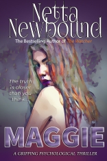 Maggie ebook cover purple